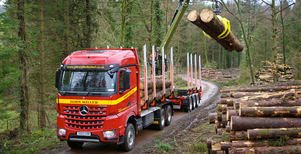 Moving Truck Companies >> Timber Haulage - John Miller Limited